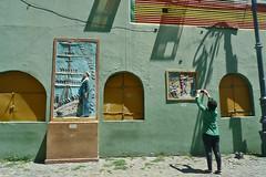 Buenos Aires - Caminito wall art