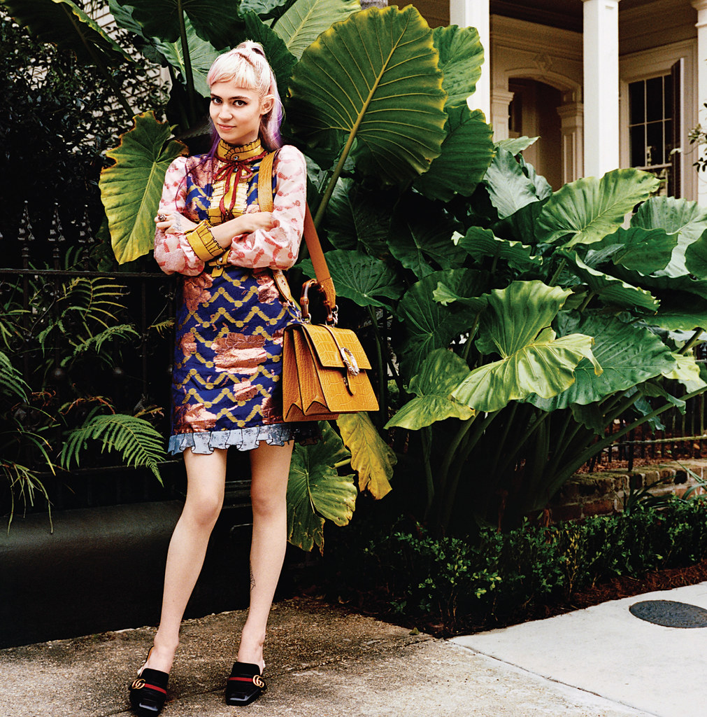 Граймс — Фотосессия для «Vogue» 2015 – 1