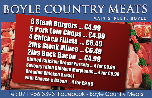 Boyle Country Meats January30th