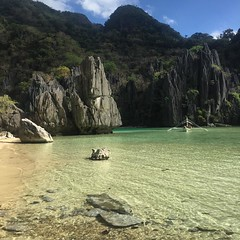 Emerald waters. #elnido #palawan #wewerehere