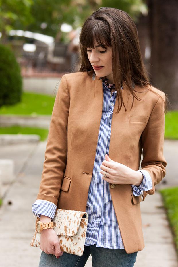 Camel Blazer, Regent Blazer, Menswear Inspired Outfit