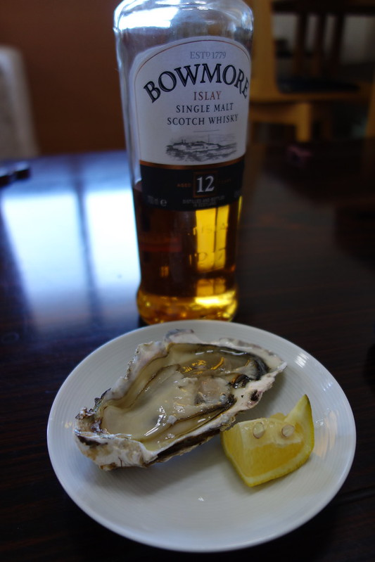 20160211 oyster with Bowmore