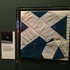 First Saltire in space on display st National Museum of Scotland #space #Scotland