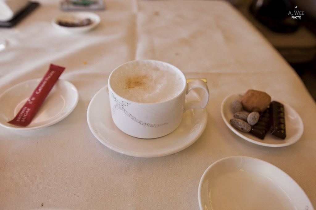 Cappucino at the end