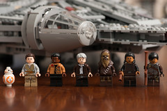 Star Wars Lego: Force Awakens Millennium Falcon, Set 75105