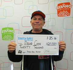 Edgar Cook - $20,000 Jingle Bell Jackpot