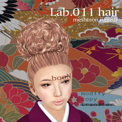 booN Lab.011 hair @hairology