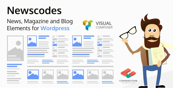 Newscodes v2.1.0 – News, Magazine and Blog Elements for WordPress