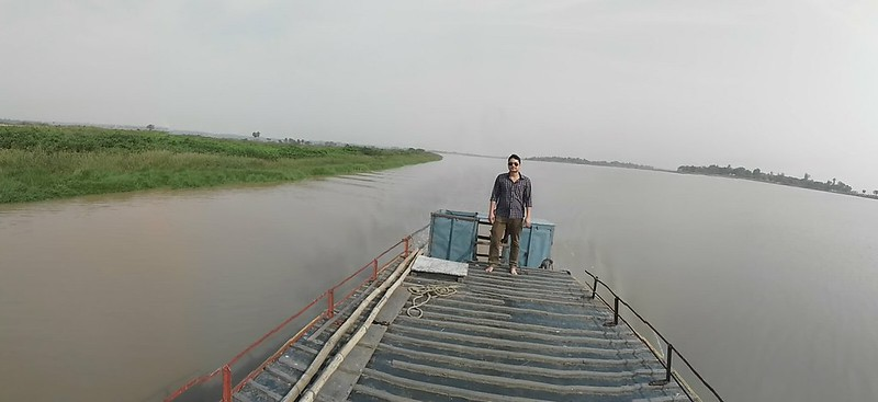 the surrounding of river baitarani