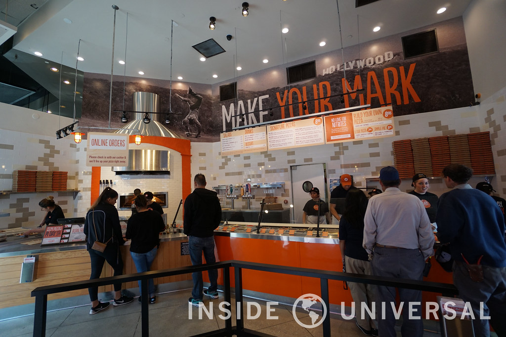 Blaze Pizza is now open and Pink's Hotdogs debuts a new look at CityWalk Hollywood