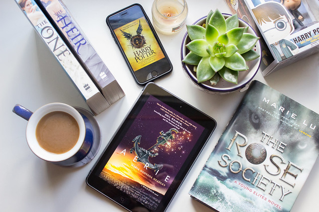 6 books I have on pre-order