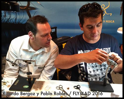 Ricardo Bergaz y Pablo Robles