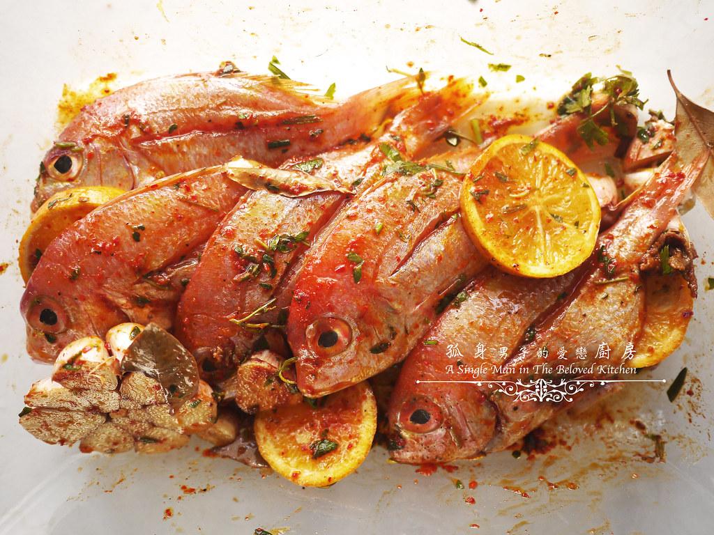 孤身廚房-橄欖柑橘香烤赤鯮8