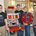 State Rep. Tami Zawistowski visited students at the Suffield Shakedown robotics scrimmage held at Suffield High School.