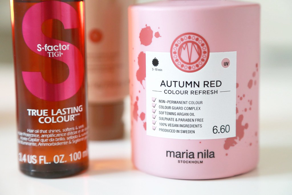marianila, autumnred, colourrefresh, colourenhancer, conditioner,