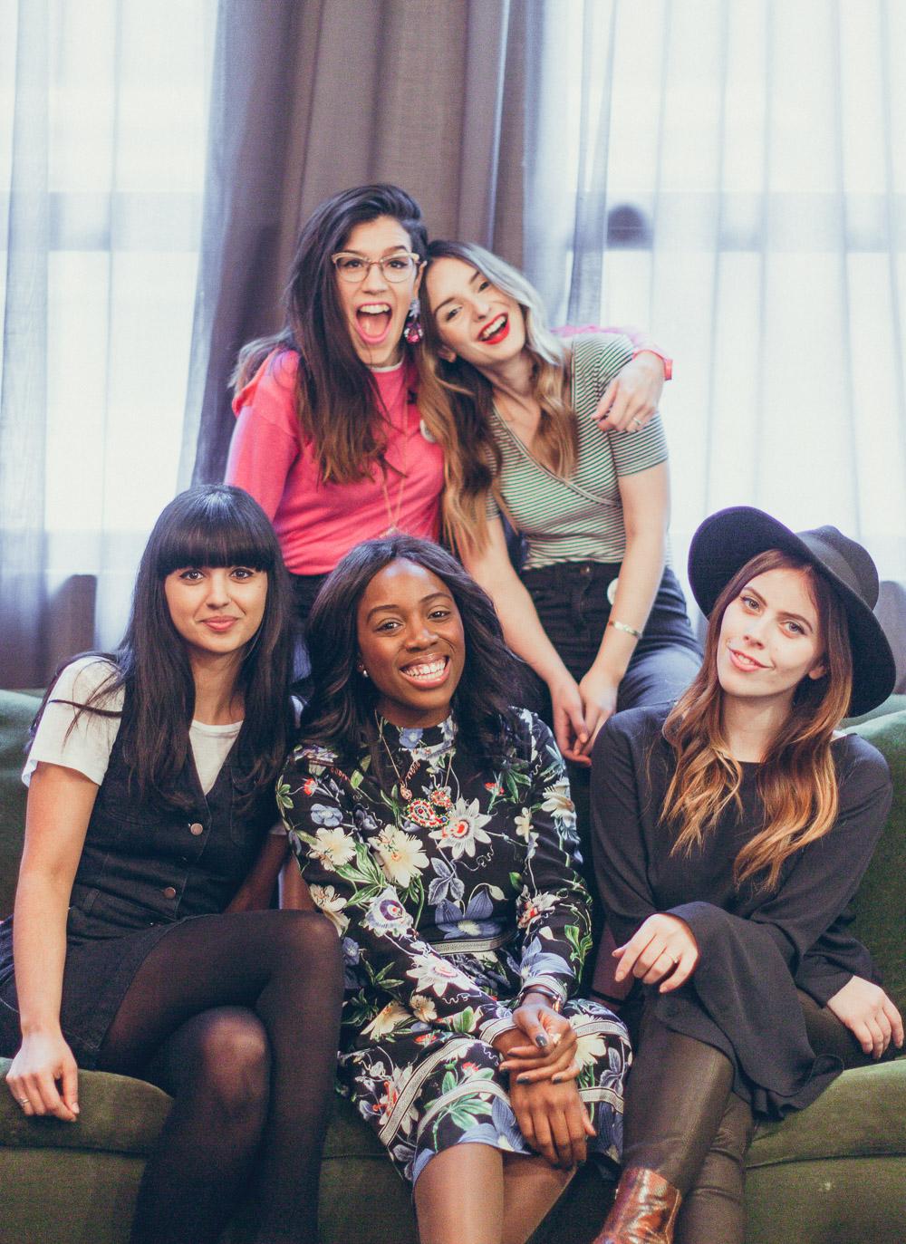 #TheBloggersMarket no.3 five blogging friends at the hoxton hotel london