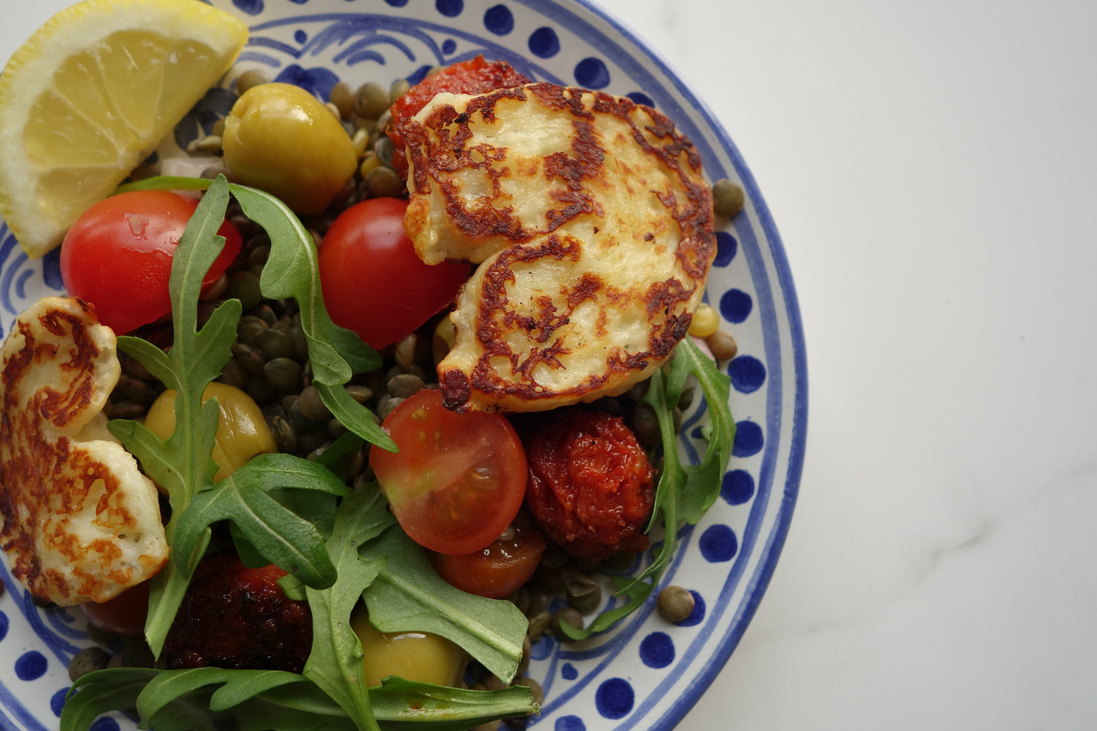 Meddy Steady Cook: Lentils, Halloumi and Chorizo