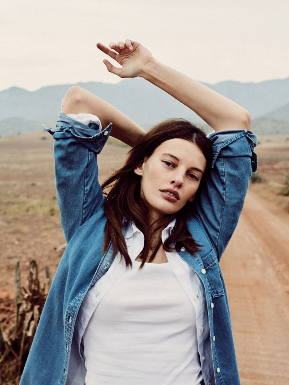 Amanda Murphy By Quentin De Briey For Vogue Uk May 2016