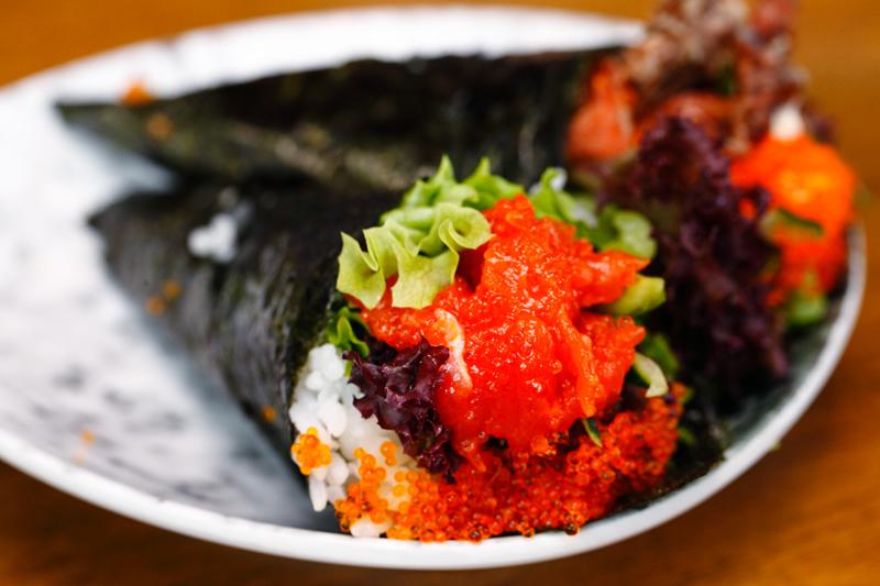 Ichiban Izakaya Buffet Spicy Tuna Handroll