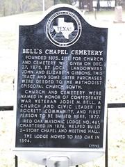 Bell's Chapel Cemetery TxHM