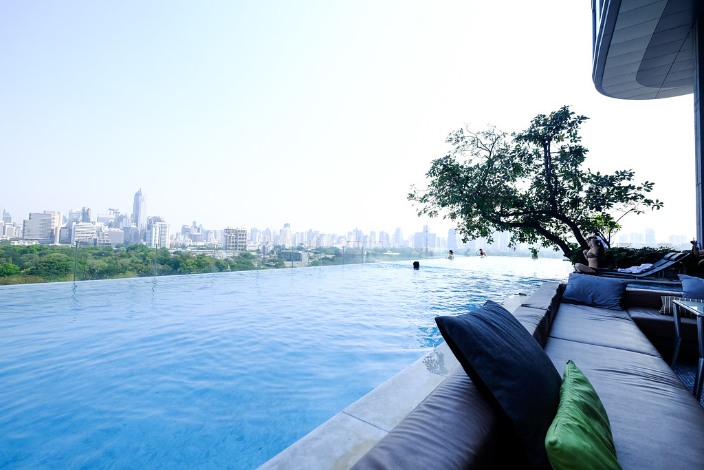 Sofitel So Bangkok: Soak in the Infinity Pool