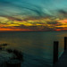 Sunset after Hurricane-Pano by Ron Harbin Photography