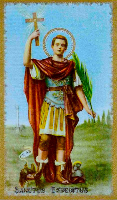 Saint Expedite ~ April 19th