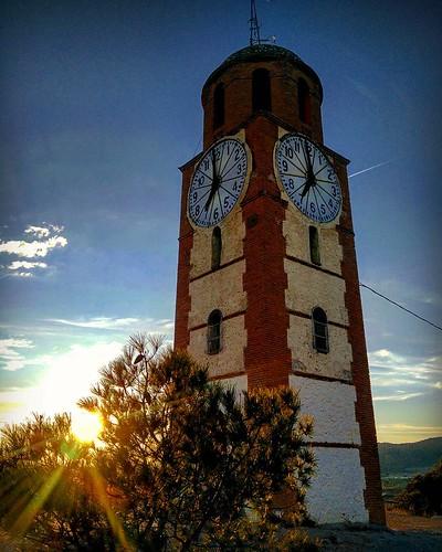 Atardece en el Cerro del Reloj. Tobarra (Albacete, Spain)