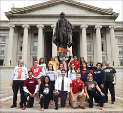 U.S. Department of the Treasury: Treasury Staff supporting National College Signing Day (Wednesday Apr 27, 2016, 11:56 AM)