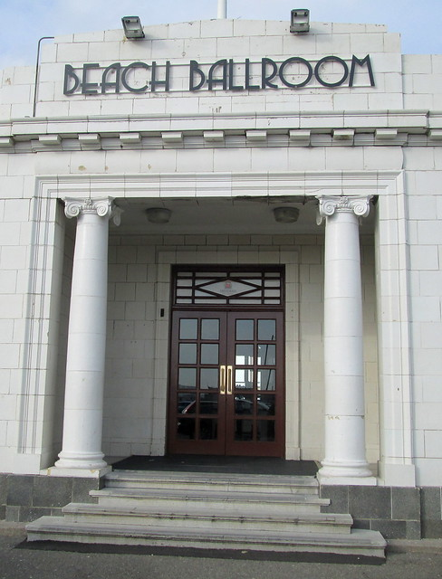 Entrance to Beach Ballroom, Aberdeen