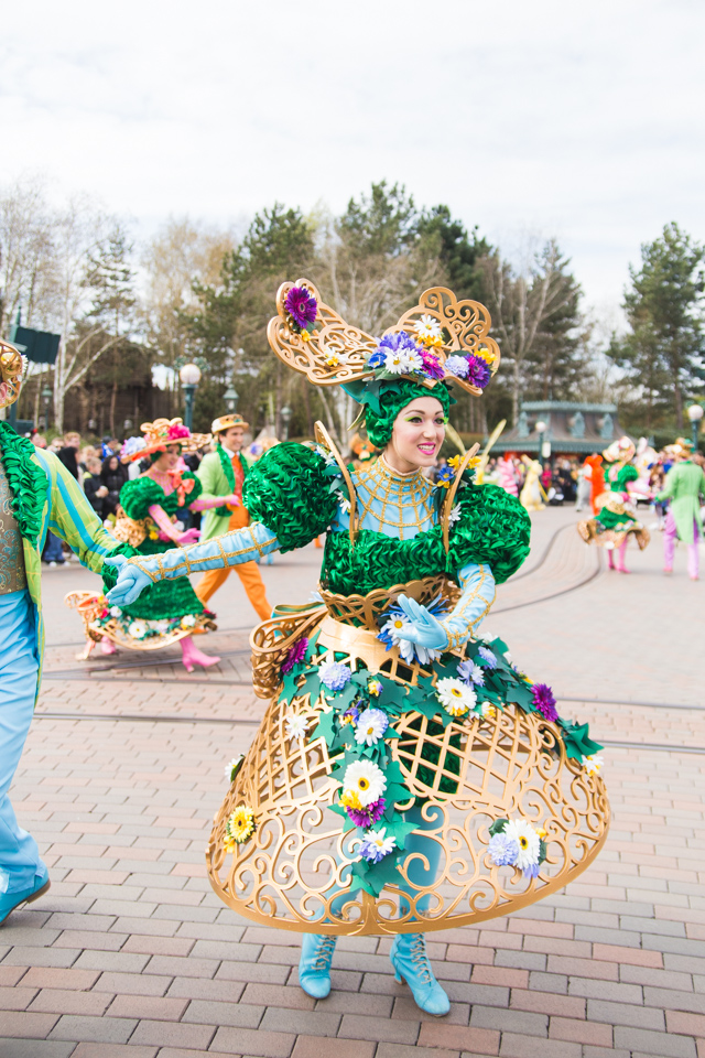 Disneyland Paris Spring parade