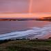 Tautuku Rainbow Sunrise by Panorama Paul