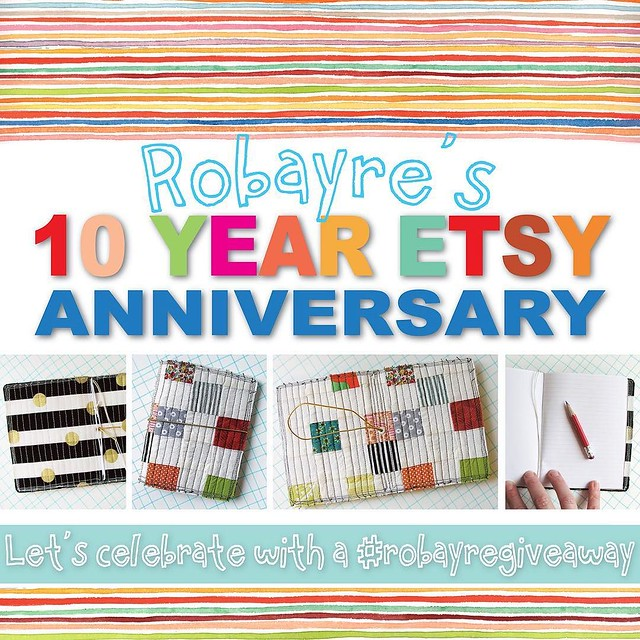 🎈🎉Today is the day!!🎉🎈Robayre.etsy.com is TEN YEARS OLD today. I can't believe it has been 10 years already. I will forever be grateful to the @etsy platform, for introducing me and allowing me to sell the precious things I make