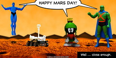PopFig: Happy Mars Day!