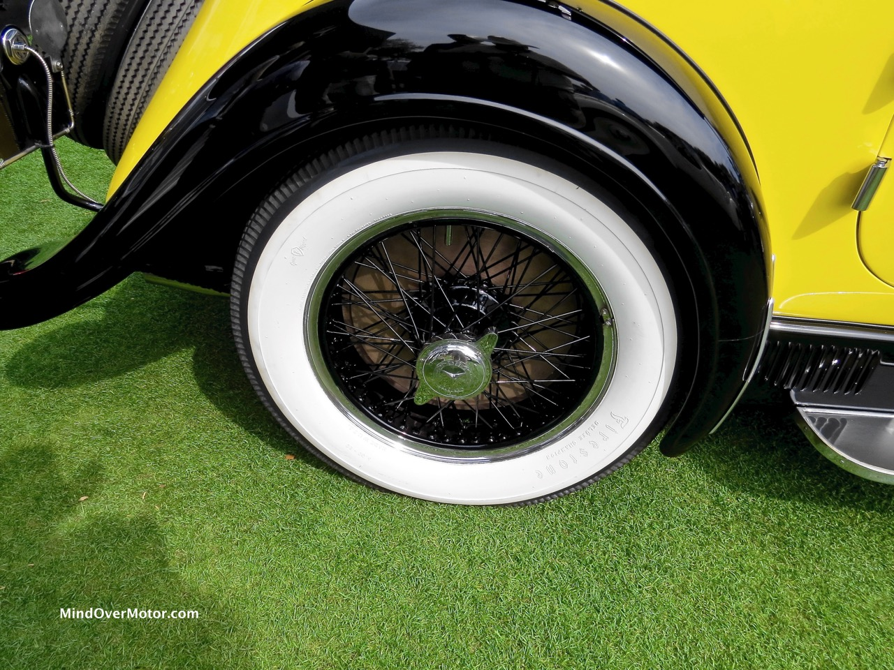 1928 Mercedes-Benz S Wheel