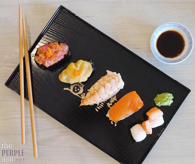 Sushi Platter at Kikkoman Bloggers Master Class