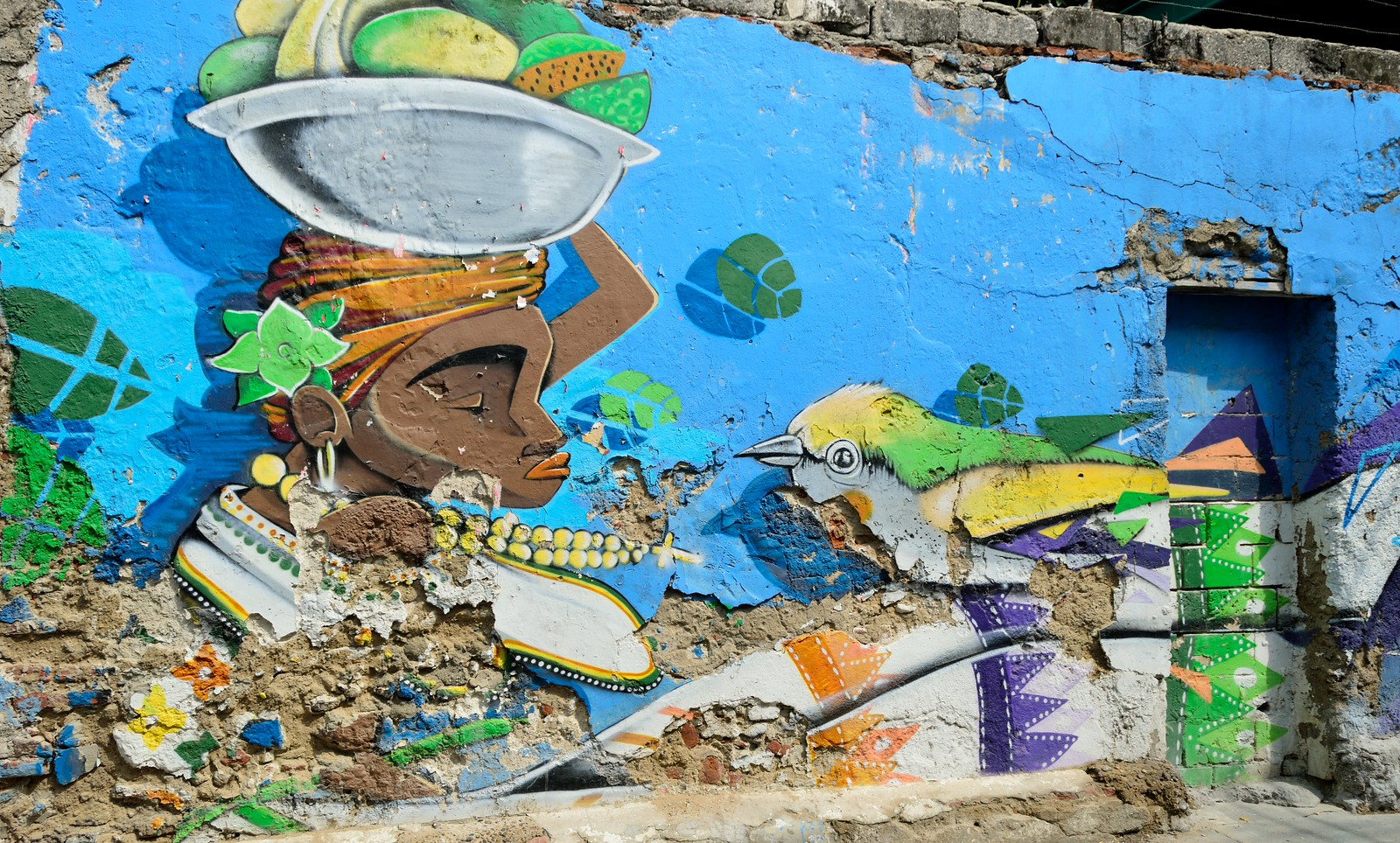 Getsemani graffiti