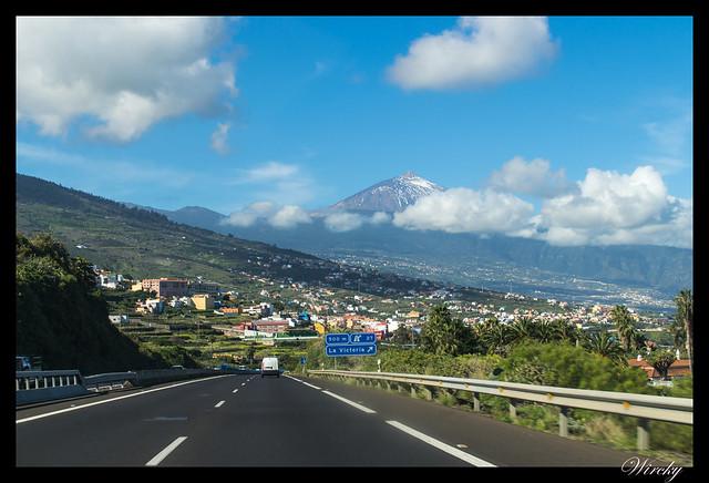 Tenerife la Orotava mirador Humboldt mirador Mataznos - Pico Teide