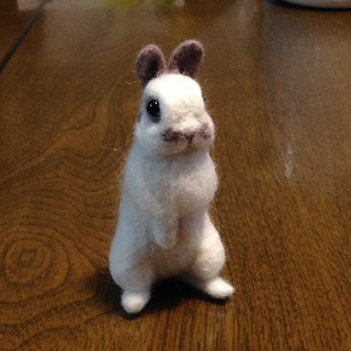 felting doll : Suzu