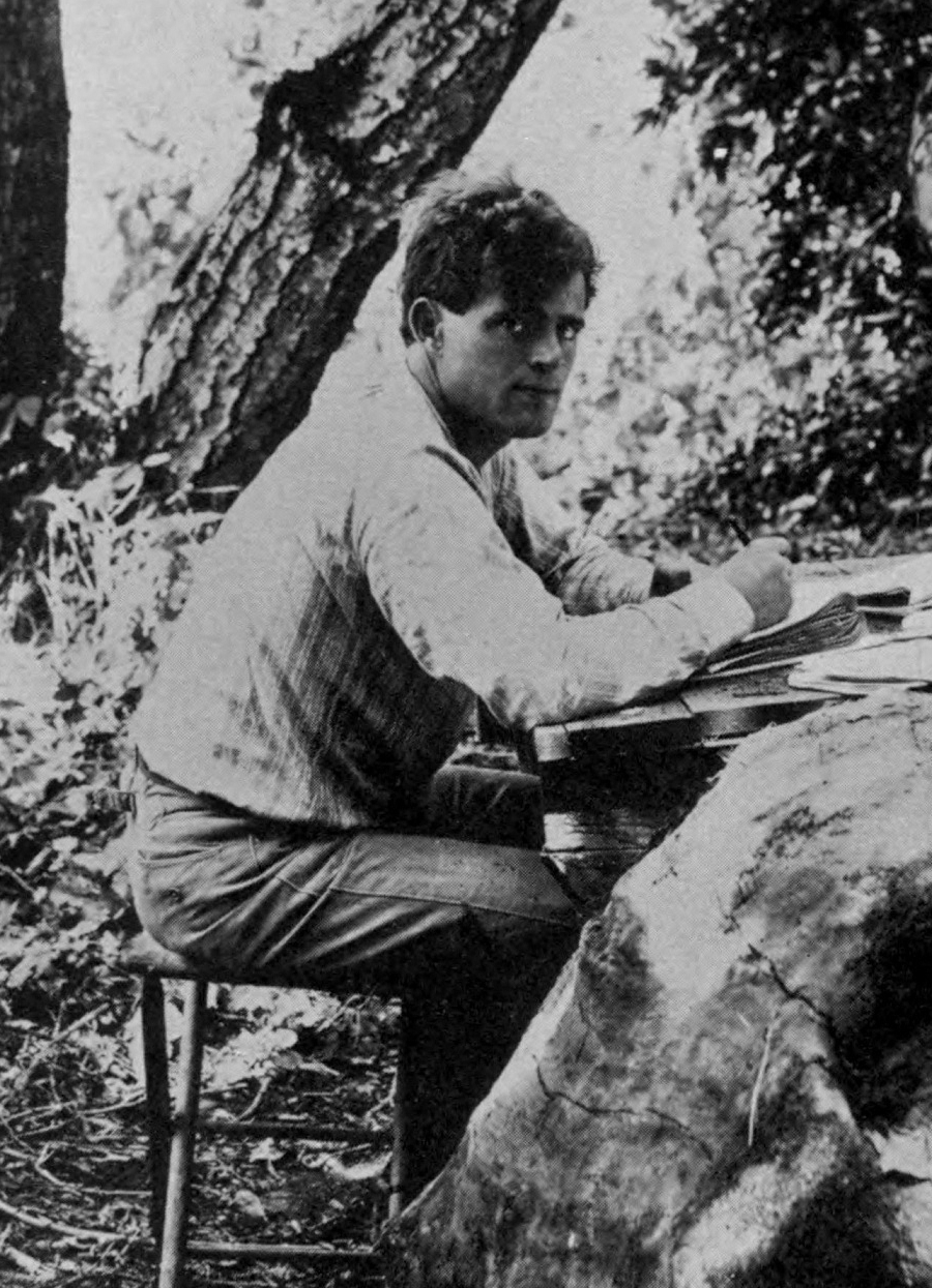 Astral Travels With Jack London The Public Domain Review  afffe O Astral Travels With Jack London