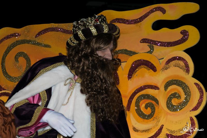 Rey Gaspar, Cabalgata de Reyes Magos en Sant Joan Despí 2016