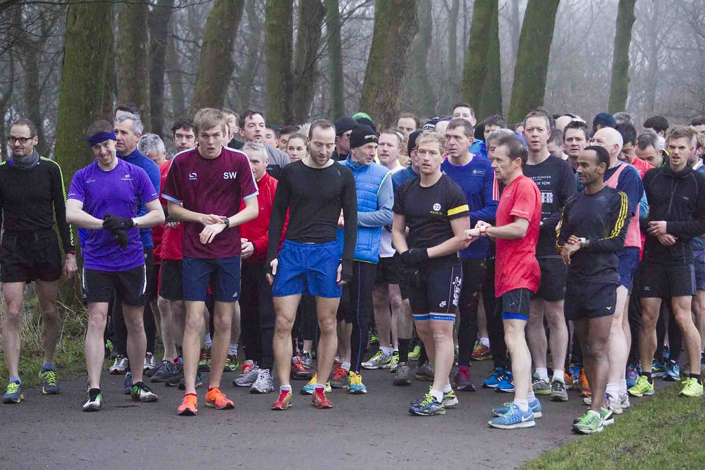 Graves Park Run 9th Jan 2016
