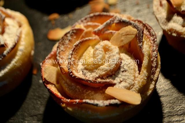 Rose Sablée aux Pommes et à la Confiture de Figue © Ana Luthi Tous droits réservés 21