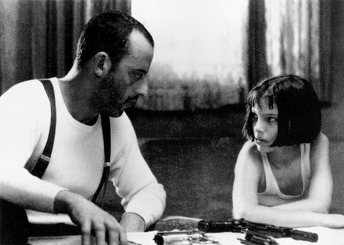 Jean Reno and Natalie Portman in Léon (1994)