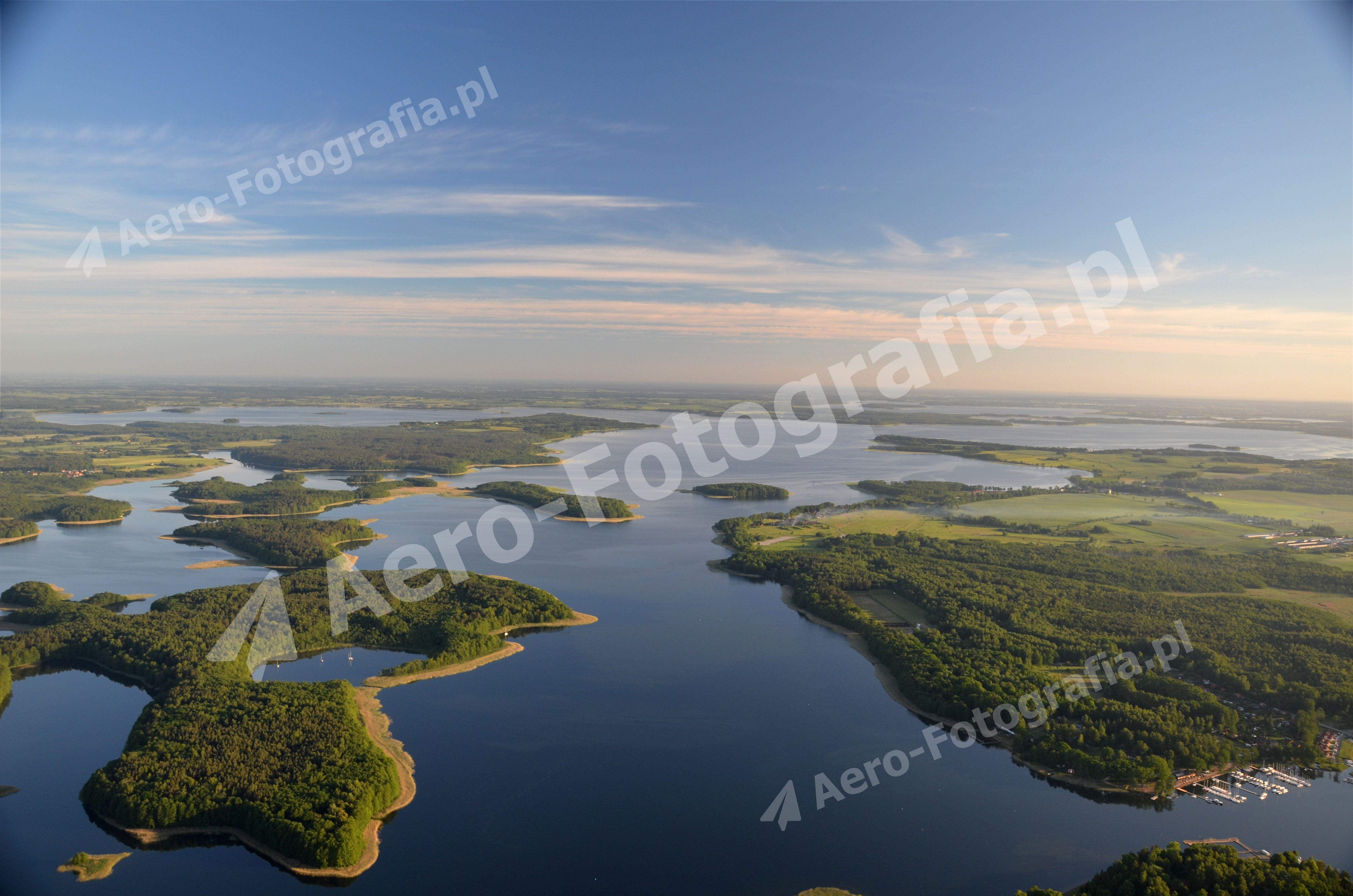 Mazurskie jeziora Kisajno, Dargin, Dobskie.