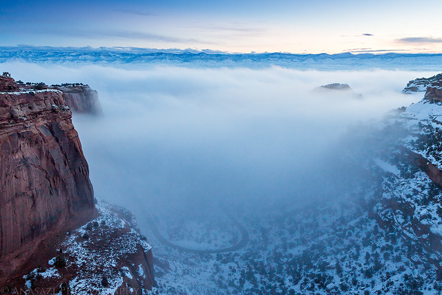 Fruita Canyon Fog