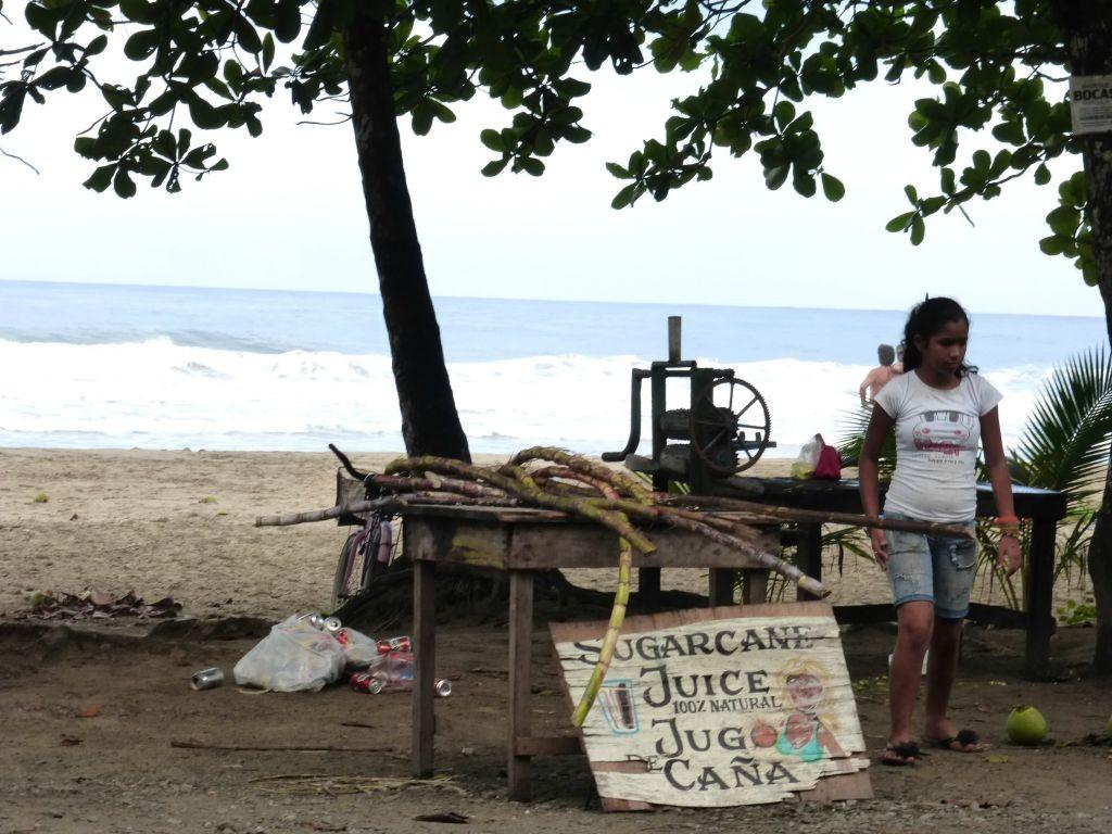 Fresh Juice Vendor Cocles Beach