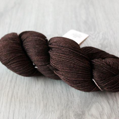 Malabrigo sock in Chocolate Amargo