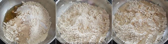 How to make Whole Wheat Garlic Focaccia Recipe - Step1