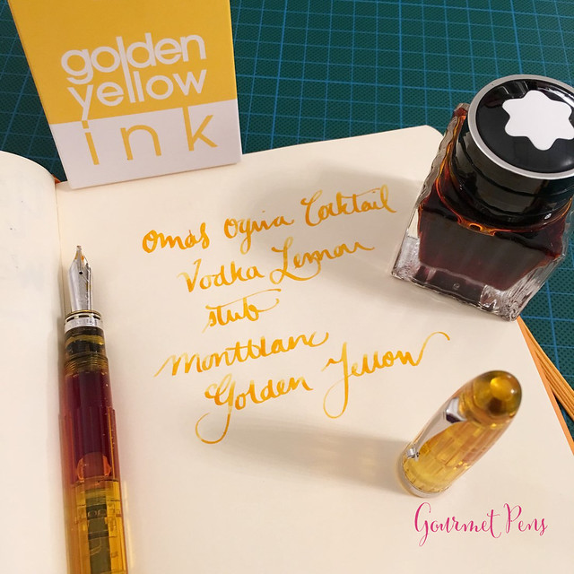 Ink Shot Review Montblanc Golden Yellow @AppelboomLaren @Montblanc_World (3)